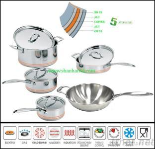 New Products 9Pcs Kitchen Camping Cookware