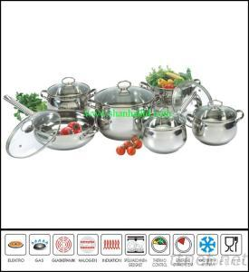 12Pcs New Style Stainless Steelmicrowave Cookware