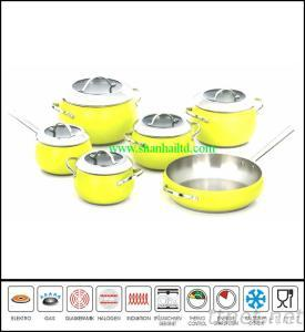 New Products Italian Stainless Steel Stainless Steel Brand Cookware