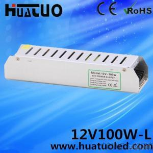 Non-Waterproof Model-L 12V 8.3A 100W Power Supply IP20 For Led Strip