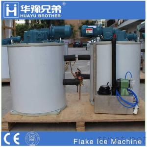Flake Ice Machine Vertical Cylindrical Drum Evaporator Generator