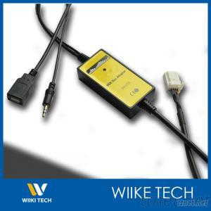 V.W 12P USB Aux Adapter