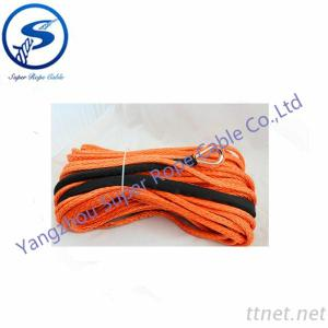 4X4 Winch Rope, 12 Strand UHMWPE Towing Rope, Sythetic Rope For Winch