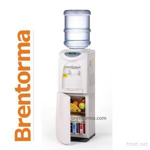 Fridge Integrated Microchip Controlled Water Cooler and Dispenser