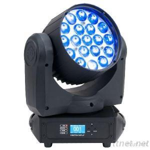 19Pcs 4In1 LED Zoom Moving Head Light