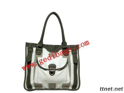 Lady Style Handbags With PVC.PU LEATHER