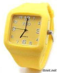 Silicone Jelly Waterproof Watch