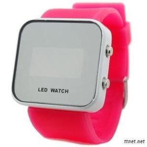 Silicone Digital Led Watch