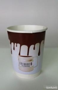 PE-Coated Inside Paper Coffee Cup