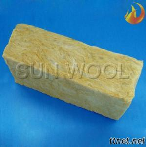 Thermal Insulation Fireproof Rock Mineral Wool Board Sample