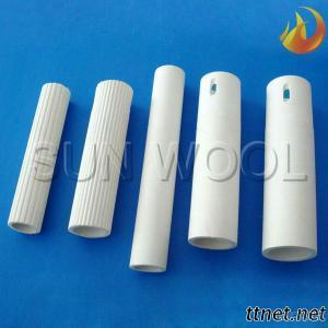 Alumina Ceramic Roller Used In Glass Tempering Furnces