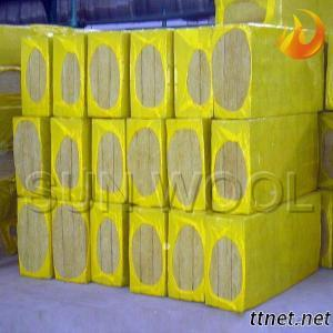 Thermal Insulation Fireproof  Mineral Rock Wool Panel