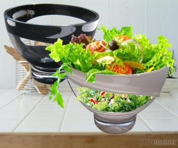 Hallow Salad Bowl With Cover