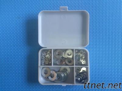 140 Piece Assorted Stainless Steel Flat Washers