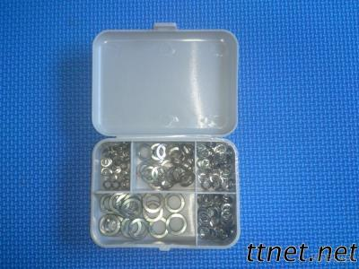 140 Piece Assorted Stainless Steel Lock Washers