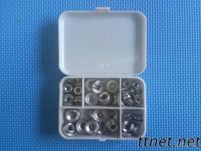 110 Piece Assorted Stainless Steel Finish Washers
