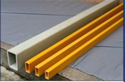 Lightweight FRP Flat Tube Pultruded Profiles