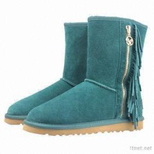 Double Faced Sheepskin Boots