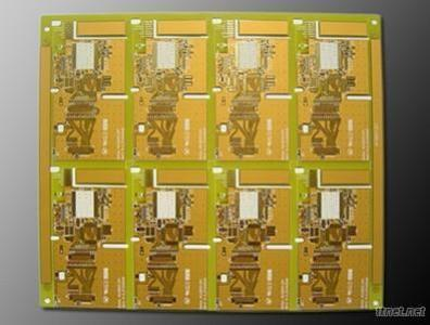 Gold Polyimide Multi-Layer Flexible PCB Board