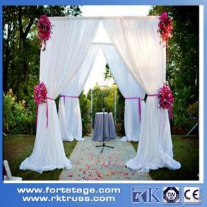 aluminum backdrop stand portable pipe and drape