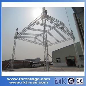 easy install concert stage truss ceiling lighting truss system