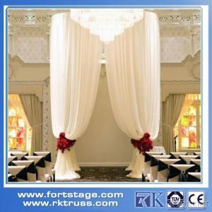 Hot Adjustable Pipe And Drape stage backdrop used for wedding