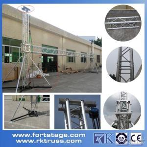 Aluminum modular LCD display Screen truss for vocal concerts stage system