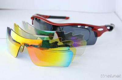 RX Sports Sunglasses With Spare Lenses Polarized Cycling Bike Sun Glasses Prescription Outdoor Sport Eyewear