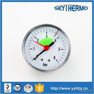 Oil Temperature Meter High Low Heat-Supply Pipe Network Pressure Gauge