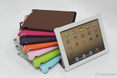 Leather Case/Walnet For Ipad 3