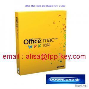 Office Mac 2011 Home And Student Key, 2User /1User Are In Stock