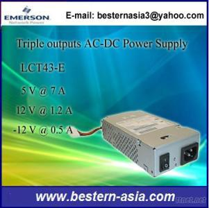 Astec LCT43-E 47W Triple Outputs Enclosed Power Supply