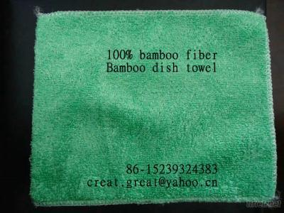 Bamboo Dish Kitchen Cleaning Cloth