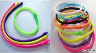 Novel Silicone Bracelet, Hollow Bracelet
