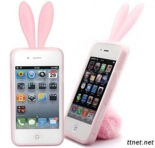 Fashion Silicone Rabbit Phone Case For IPhone