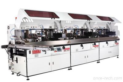 1 To 6 Color Automatic Uv Screen Printing Machine For Container And Bottles