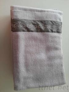 Towel Set With Printed T/C Band