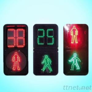 Red Yellow Green Color Traffic Roadway Signal Light