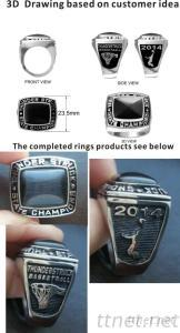 2015 New Product National Basketball Championship Rings, Althetic Rings