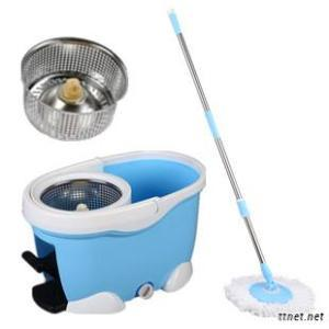 Magic Easy Spin Mops, Swabber Swob Four Devices Bucket