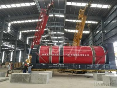 Hot Air Rotary Drum Dryer For Municipal/Tannery/Papermaking Sludge Treatment