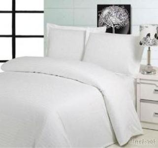 Hospital White Bed Sheet, Hotel Bleached White Bed Sheet