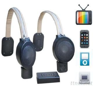 Gaming Chair Speaker With Wireless Stereo Sound For Sofa/Chair/Bed To Elders As Hearing Impaired Aid