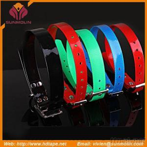 Pets Training And Hunting Products TPU Coated Webbing Dog Collar