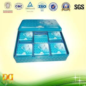 Packaging Tin Box For Biscuit, Cookie Tin Container