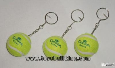 Tennis Ball Keychain, Tennis Ball Gifts, Sport Gift Ball