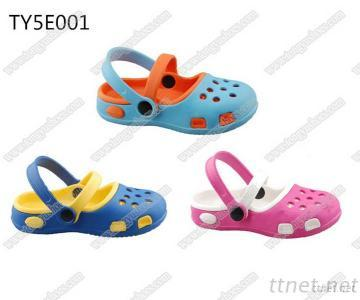 China Fujian Wholesale Cheapest Kids Fashion EVA Sandal Clogs