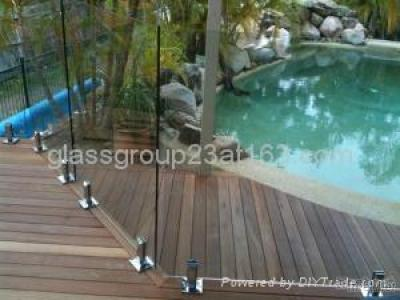 Tempered Glass Fencing, 12Mm Toughened Fence Glass