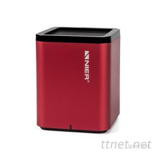 High End Portable Bluetooth Wireless Mini Metal Cube Speaker With Microphone