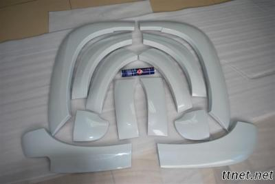 ABS Blowing Fender Flare For Prado 2010